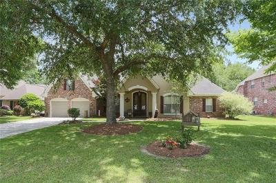 Mandeville Single Family Home For Sale: 1018 Whitetail Drive
