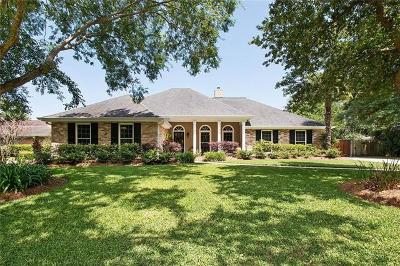 Destrehan, St. Rose Single Family Home Pending Continue to Show: 112 Villere Drive