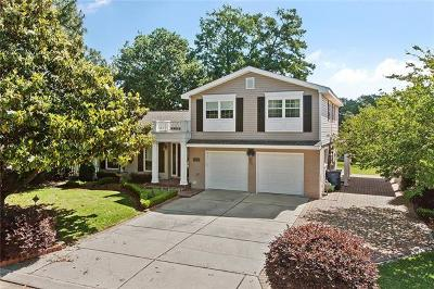 Gretna Single Family Home For Sale: 605 Fairfield Avenue