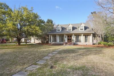 Madisonville Single Family Home For Sale: 62 Magnolia Ridge Drive