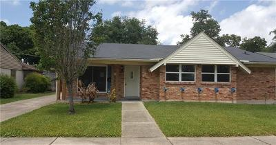 Jefferson Parish Single Family Home Pending Continue to Show: 7201 Schouest Street
