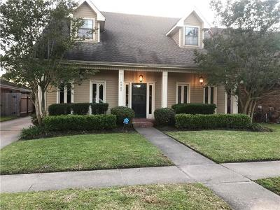 Kenner Single Family Home For Sale: 4500 David Drive
