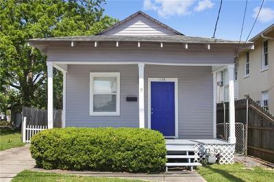 Westwego Single Family Home For Sale: 538 Avenue A Avenue