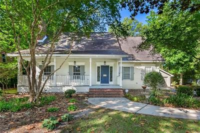 Madisonville Single Family Home For Sale: 65 Magnolia Ridge Drive