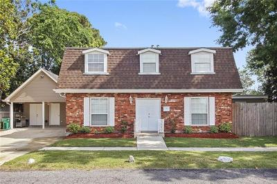 Metairie Single Family Home For Sale: 701 Harrison Avenue
