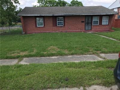 New Orleans Single Family Home For Sale: 6900 Dorian Street