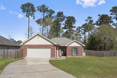 Pearl River LA Single Family Home For Sale: $185,000