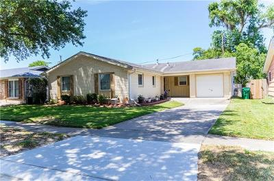 Metairie Single Family Home Pending Continue to Show: 6105 Boutall Street