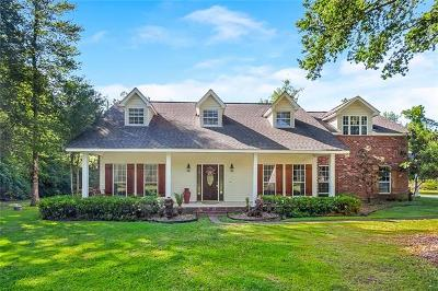 Covington Single Family Home For Sale: 23161 Lowe Davis Road