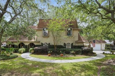 Mandeville Single Family Home For Sale: 131 Cheron Drive