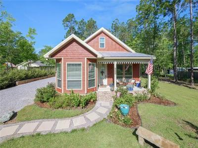 Mandeville Single Family Home Pending Continue to Show: 70365 Menuet Road