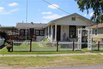 Westwego Single Family Home For Sale: 704 Avenue B Avenue
