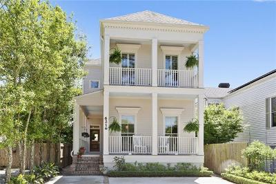 Single Family Home For Sale: 6216 Annunciation Street