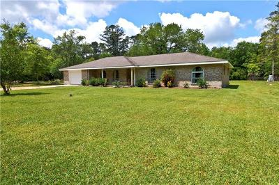 Mandeville Single Family Home For Sale: 65401 Mulberry Street