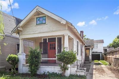 New Orleans Single Family Home For Sale: 2635 Dante Street