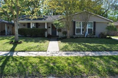 River Ridge, Harahan Single Family Home For Sale: 312 Berclair Avenue