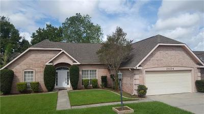 Marrero Single Family Home For Sale: 2604 Crestway Road