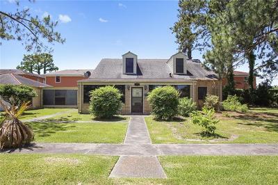 Gretna Single Family Home For Sale: 708 Bordenave Street