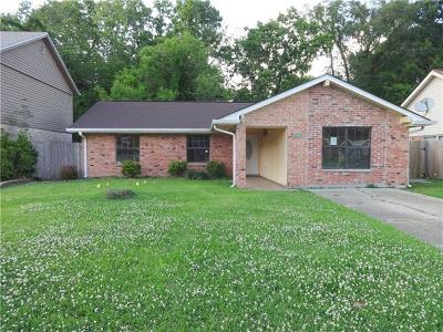 Marrero Single Family Home For Sale: 2501 Long Branch Drive