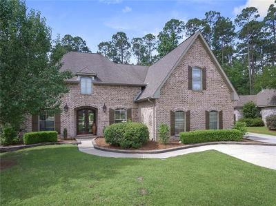 Mandeville Single Family Home For Sale: 1102 Scarlet Oak Lane Lane