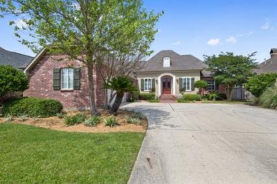 Slidell Single Family Home For Sale: 137 Lighthouse Point