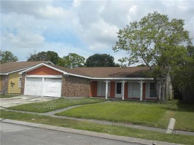Harvey Single Family Home For Sale: 3728 Liro Lane