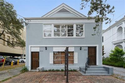 New Orleans Multi Family Home For Sale: 3512-3516 Canal Street