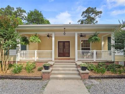 Covington Single Family Home Pending Continue to Show: 72581 Military Road