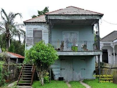New Orleans Single Family Home Pending Continue to Show: 1318 Dublin Street