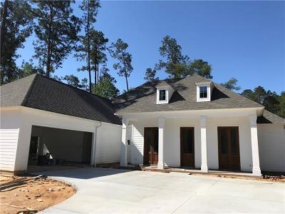 Mandeville Single Family Home For Sale: 225 Chateau Papillon