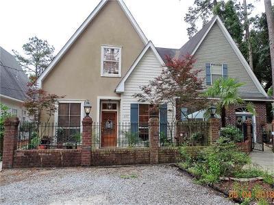 Mandeville Townhouse For Sale: 647 Village Lane South