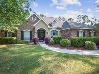 Mandeville Single Family Home For Sale: 2837 Mesa Court