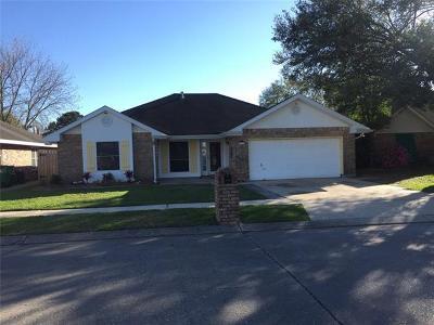 Destrehan, St. Rose Single Family Home For Sale: 3730 Ashton Drive