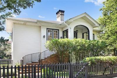 New Orleans Single Family Home For Sale: 2032 Audubon Street