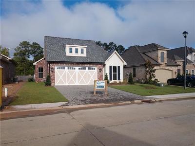 Covington Single Family Home For Sale: 973 S. Corniche Dulac Drive
