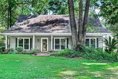 Mandeville Single Family Home For Sale: 5015 Sharp Road