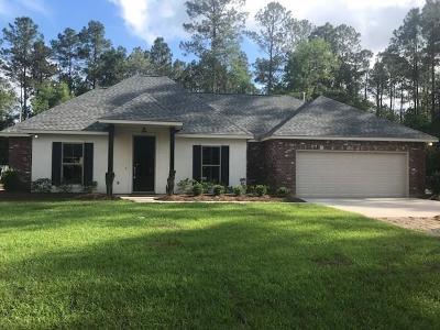 Mandeville Single Family Home For Sale: 23005 Little Creek Road