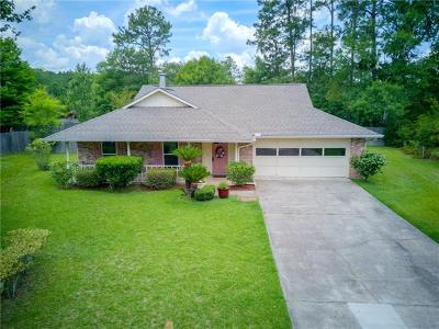 Slidell Single Family Home Pending Continue to Show: 807 Lake D'cote Court