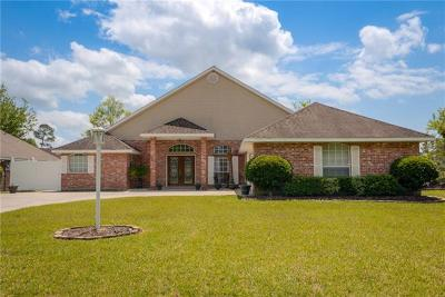 Slidell Single Family Home For Sale: 465 Waverly Drive