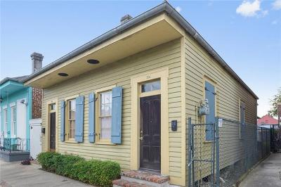 New Orleans Single Family Home For Sale: 712 Mandeville Street