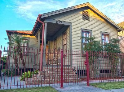 New Orleans Single Family Home For Sale: 817 Toledano Street