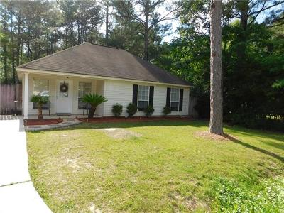 Covington Single Family Home For Sale: 70241 5th Street
