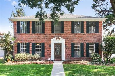 Metairie Single Family Home For Sale: 4412 Avron Boulevard