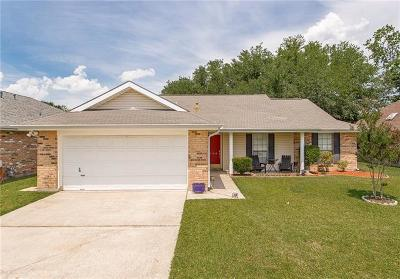 Destrehan, St. Rose Single Family Home Pending Continue to Show: 424 Evergreen Drive