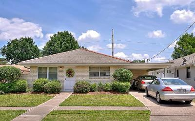 Metairie Single Family Home For Sale: 1213 Papworth Avenue