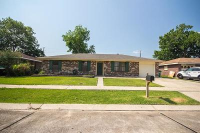 Marrero Single Family Home For Sale: 5121 Willowtree Road