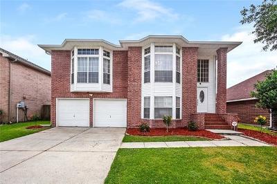 Gretna Single Family Home For Sale: 3316 Jason Lane