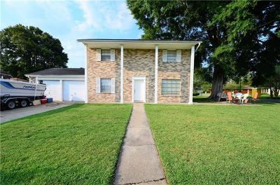Westwego Single Family Home For Sale: 333 Columbus Street