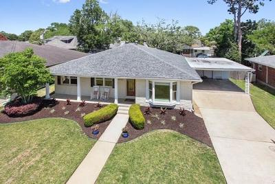 Metairie Single Family Home Pending Continue to Show: 4701 James Drive