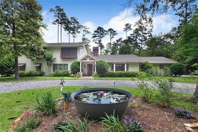 Covington Single Family Home For Sale: 75320 River Road